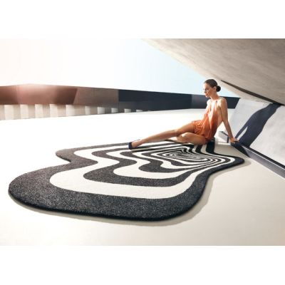 Twist & Shout Rug Black