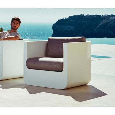Ulm Lounge Chair White