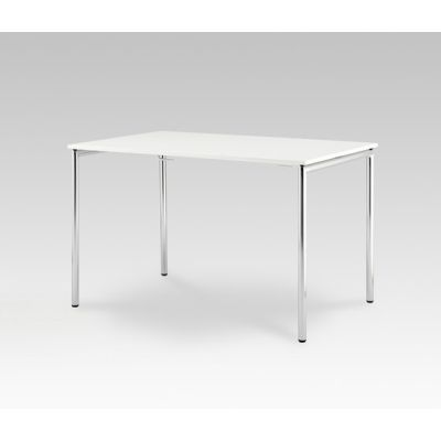 Usu table with tube legs by HOWE