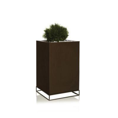 Vela Cubo Alto - 40 x 40 x 90 cm Bronze