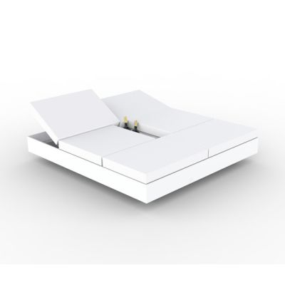 Vela 4 Reclining Backrest Daybed White