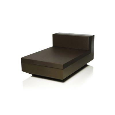 Vela Sofa Chaise longue Unit Bronze