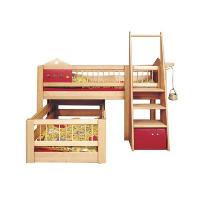Villa small children's bunk bed DBA-201.2 by De Breuyn