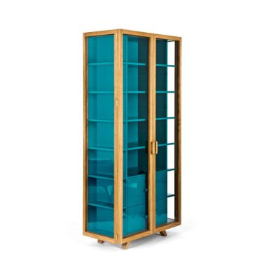 Vitrina tall cabinet by Case Furniture