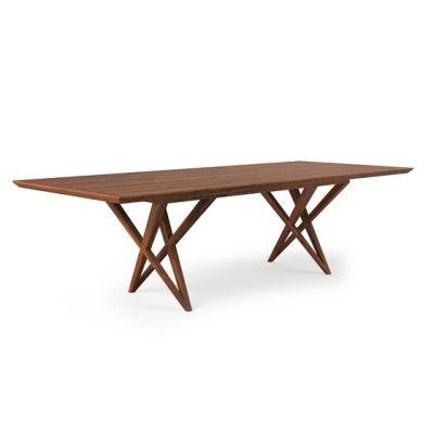 VIVIAN TABLE WALNUT by Belfakto