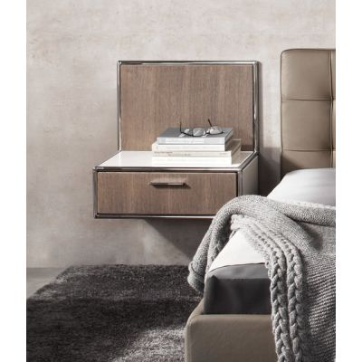 Wall-mounted bedside table by Dauphin Home