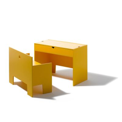 Wonder Box table and bench by Lampert