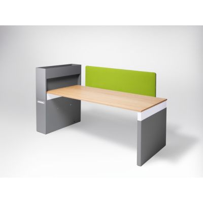 Workspace Work table by Müller Möbelfabrikation