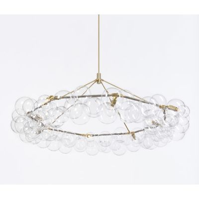 Wreath Bubble Chandelier by PELLE