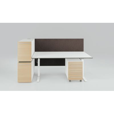 X-Ray Single workstation by Ergolain