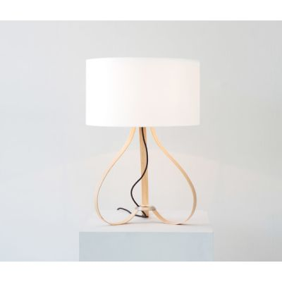 Yun table lamp oak by lasfera