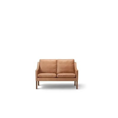 2208 Sofa - 2 Seater Walnut lacquered, Harald 2 182