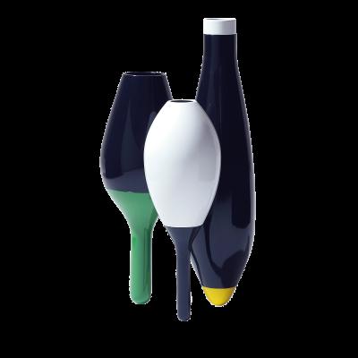 3 Vases polish ceramic vase