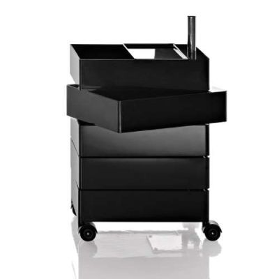 360° Drawer - 5 Drawers Black