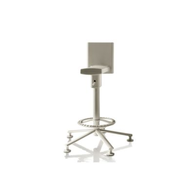 360° Swivel Stool Black