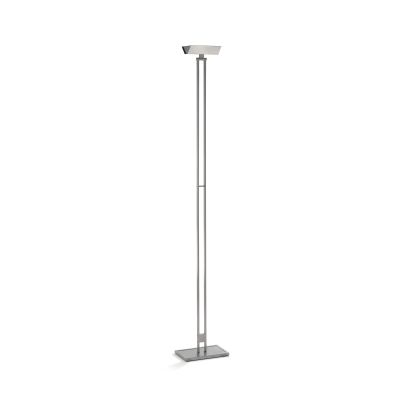 555 LED Floor Lamp 166 Satin Nickel
