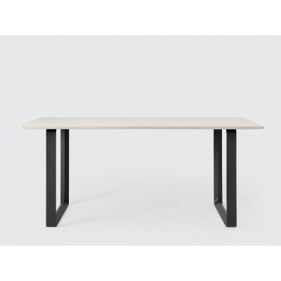 70/70 Table Large White/Black
