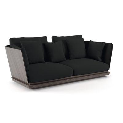 A. Cortese 2 Seater Sofa Steelcut 2 110, White Open Pore Lacquered On Oak