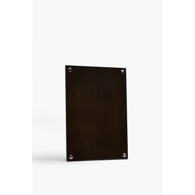 A Frame Pictureframe Smoked Oak Wood, Large (A3)