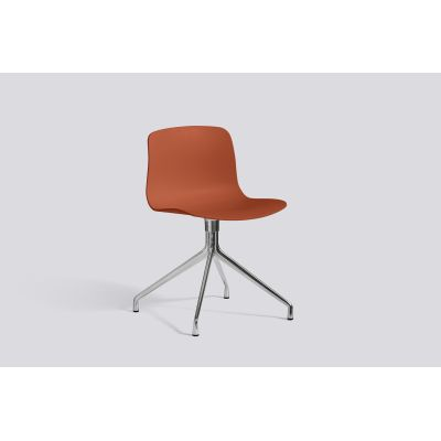 About A Chair AAC10 Orange, Polished Aluminium