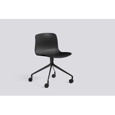About A Chair AAC14 Black, Black Powder Coated Aluminium