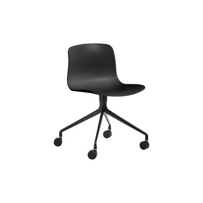 About A Chair AAC14 Black, Black Powder Coated Aluminium