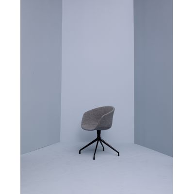 About A Chair AAC21 Leather Sierra SI0407 Lime, Polished Aluminium