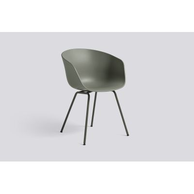 About A Chair AAC26 Dusty green, Army Powder coated Steel