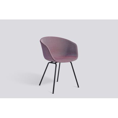 About A Chair AAC27 Leather Silk SIL0197 Cream, Chromed steel