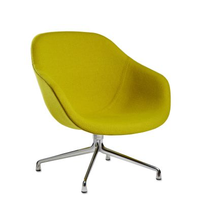 About A Lounge Chair AAL81 Coda 2 100, Polished Aluminium Base