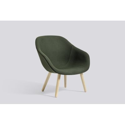 About A Lounge Chair AAL82, Matt Lacquered Oak Legs Divina Melange 2 120