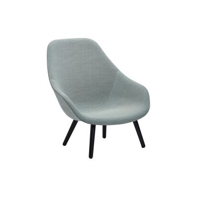 About A Lounge Chair AAL92, Black Stained Legs Hallingdal 65 100