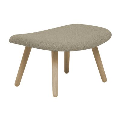 About An Ottoman AAO03, Lacquered Oak Legs Hallingdal 65 100