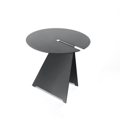Abra Low Table Anthracite Grey, 42cm