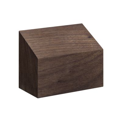 AC10 Haus Paper Weight, Shed Roof Oiled Walnut