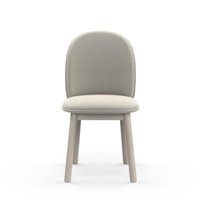 Ace Dining Chair Nist Beige, Stained Beech