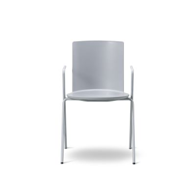 Acme A - Base Armchair Chrome, Powder Nude