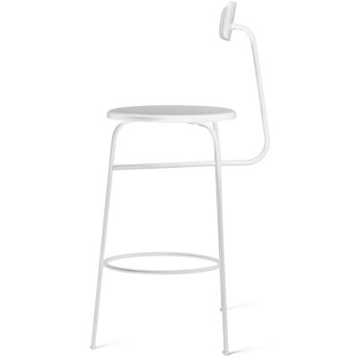 Afteroom Bar Stool White