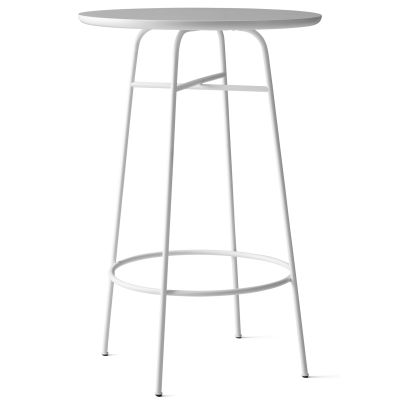 Afteroom Bar Table White/White Laminate