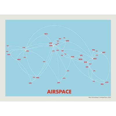 Airspace Print Blue