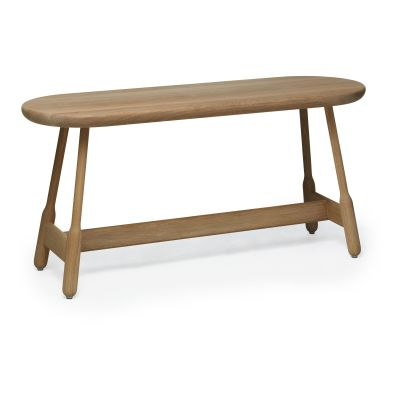 Albert Bench Natural Oak, 110cm