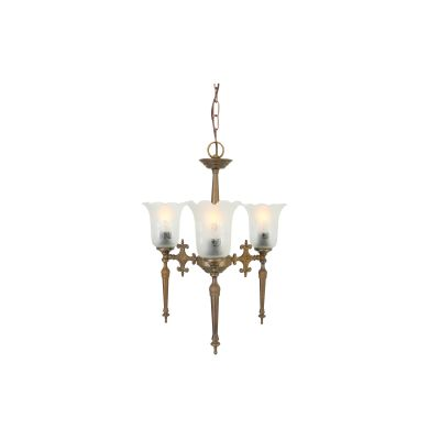 Allen Chandelier Satin Brass