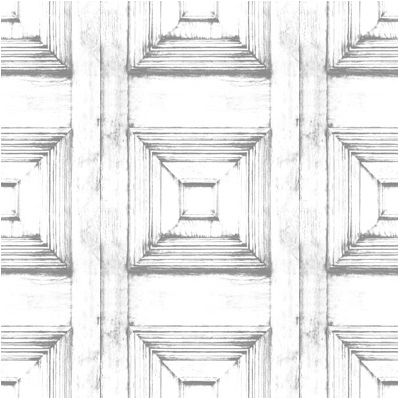 Almost White Victorian Panelling Wallpaper  Almost White Victorian Panelling Wallpaper