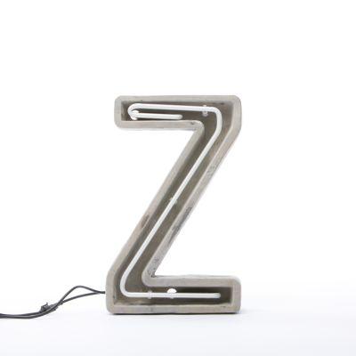 Alphacrete Alphabet Lamp Z