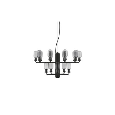 Amp Chandelier Smoke/Black, Small