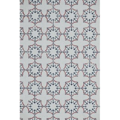 Anchor Tile Wallpaper  red/White/blue