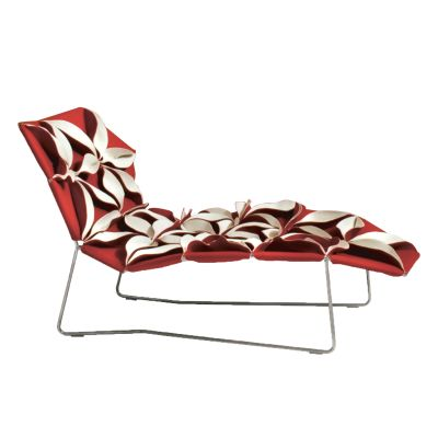 Antibodi Chaise Longue B0211 - Leather Oil cirè