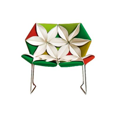Antibodi Multicolor Armchair A1639 - Tonus 4 100 white