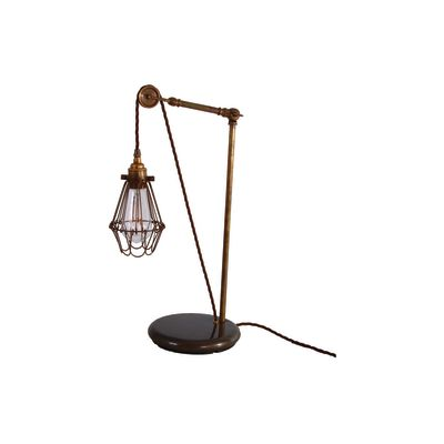 Apoch Table Lamp Antique Brass, EU Plug