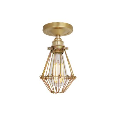 Aroch Ceiling Light Satin Brass